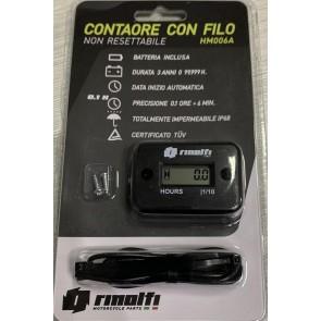 CONTAORE CON FILO NON RESETTABILE   BATTERIA 3 ANNI - IMPERMEABILE IP6